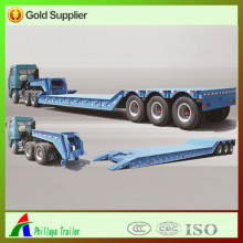Semi Trailer Hydraulic Lowbed with Detachable Gooseneck